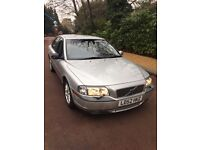 VOLVO S80 2.4 AUTOMATIC 114,000 WITH SERVICE HISTORY 1 YEARS MOT FULL LEATHER INTERIOR, HEATED SEATS
