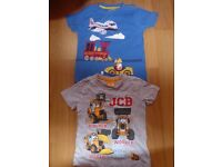Boys T-shirts Age 3-4 years