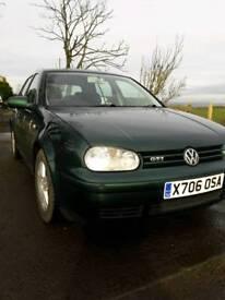 Volkswagen golf gti 8 valve. X reg. 12 months mot