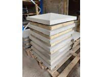 Smooth Concrete Pier / Pillar Cap Stone ~ New