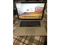 MacBook Pro i7 processor model.