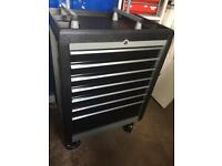 Large wheeled tool chest