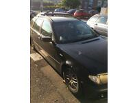 Spares or Repair BMW 320d Touring 6 Speed with DSC..