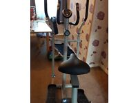 Exercise bike/Cross trainer digital clock for pulse,distance etc. Excellent condition.