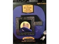 Neca Nightmare Before Christmas Pewter Jewelry Box Tim Burton Santa Jack