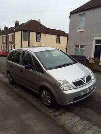 Vauxhall Meriva for sale - 12 months MOT