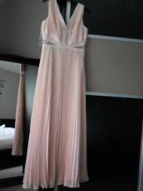 Monsoon dress size 12 in pink