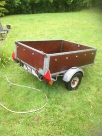 4.5ft x 3.5ft trailer