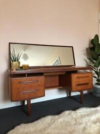 G Plan Fresco Dressing Table Teak Retro Vintage Mid Century