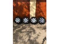 """Genuine VW T5 wheels 16"""" standard size."""