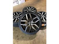 "Brand new set of 19"" alloy wheels and tyres Vw Audi Seat"