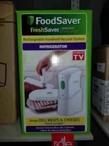 Rechargeable Hand Vacuum Sealer System - Brand New - Only $20!