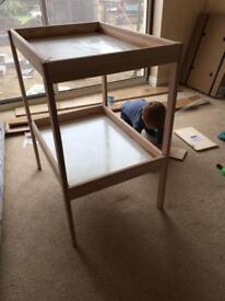 2 x Ikea changing tables