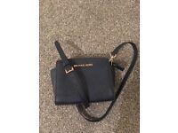 Michael Kors Selma mini shoulder clutch bag