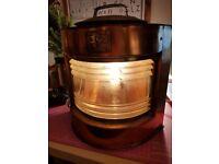 Brass Shipping Lamp