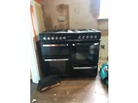 8 gas hob Flavel Aspen 100 cooker get it while it's hot cost new is £900 1000mm wide