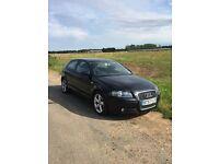 Audi A3 Sport 1.4TFSI Black (3 door) For sale