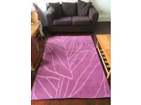 Large Lilac Rug