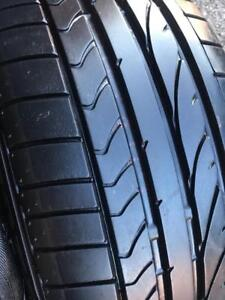 225/45/17  255/40/17 Bridgestone ete runflat  staggered 6-10/32