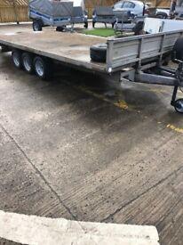 Indespension triaxle trailer 16 ft 3500kg