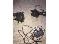 3 Nintendo ds chargers