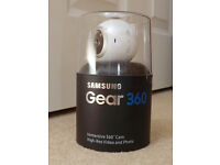SAMSUNG GEAR 360 (Boxed and Complete)
