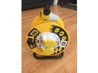110 V extension cable reel