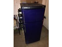 LIEBHERR Premium Fridge Freezer Medium Size Dark Blue Colour Good Condition