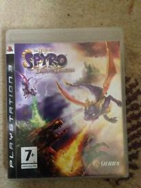 PS3 Legend of Spyro Dawn of the Dragon game