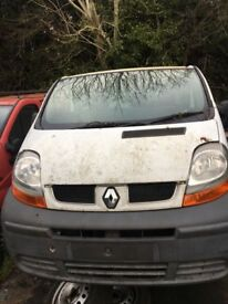 Renault traffic 2004 BREAKING!!
