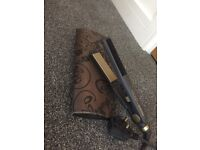 Gold Babyliss Hair Straighteners