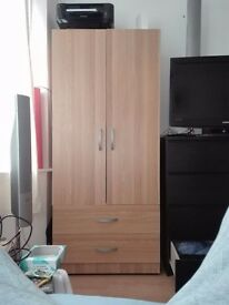 Wooden tall wardrobe only £20