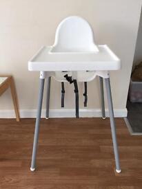 Ikea high chair antilop