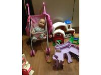 Bags of!Girls toys all together £10!!3picture