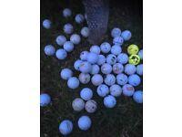 golf balls 50+ in total