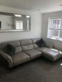 Iconica Grey Corner Sofa & Feature Chair