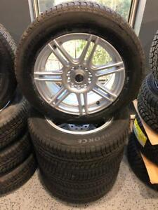 Kit Mags+Tires 5x114.3/5x112 Avec 205/60/16 Windforce Winter Tire **NEW**649$**