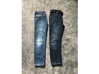 Boys jeans Debenhams Next age 10
