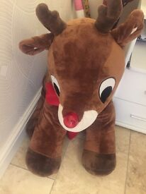 Large Rudolph teddy