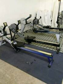serviced home used concept 2 rower / rowing machine every model in stock, low lifetime meters