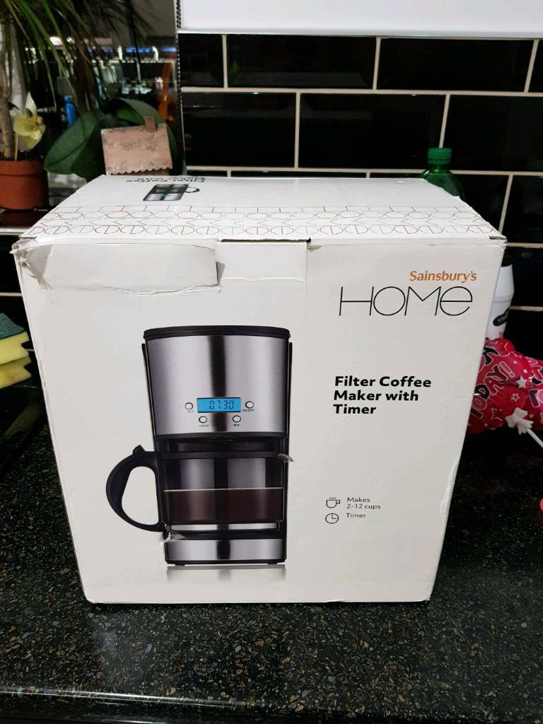 Sainsburys Filter Coffee Maker With Timer In Grays Essex Gumtree