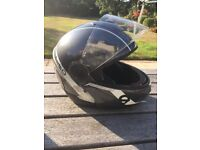 Schuberth C2 Motorbike Helmet - very good condition with integrated sun visor