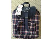 Jack Wills Rucksack and Cosmetic Gift Set. New with tags