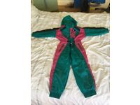 Ski suit/Clothes Rodeo (C&A) all-in-one 5/6 yrs