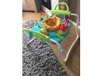 Step and play jumperoo