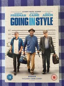Going In Style DVD With D.C