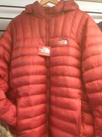Men's Northface Padded jackets for sale..
