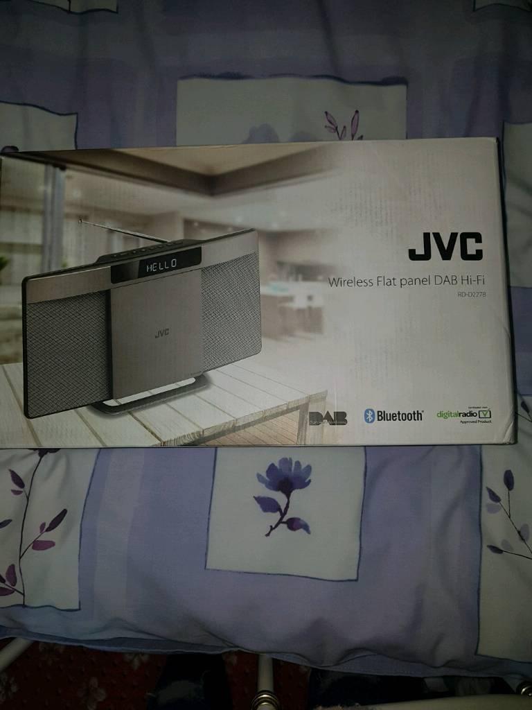 jvc wireless flat panel