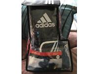 New Adidas 3 piece boxing glove set