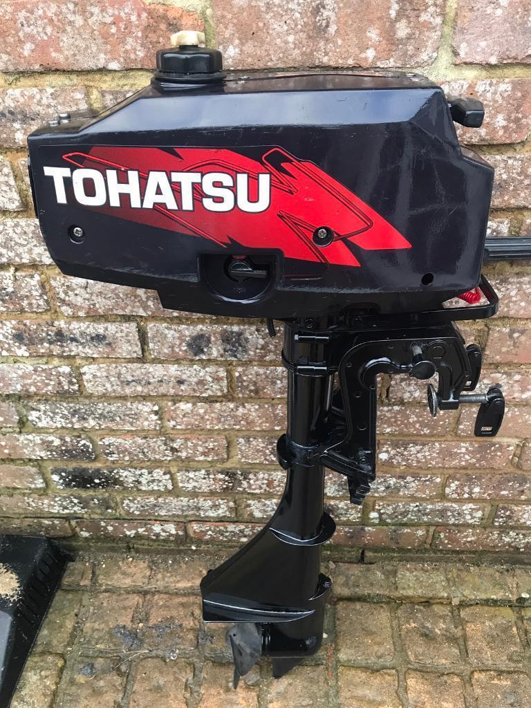 Tohatsu 3 5hp Outboard Motor